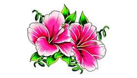 Significado tatuaje flores 3 Tatuarteorg